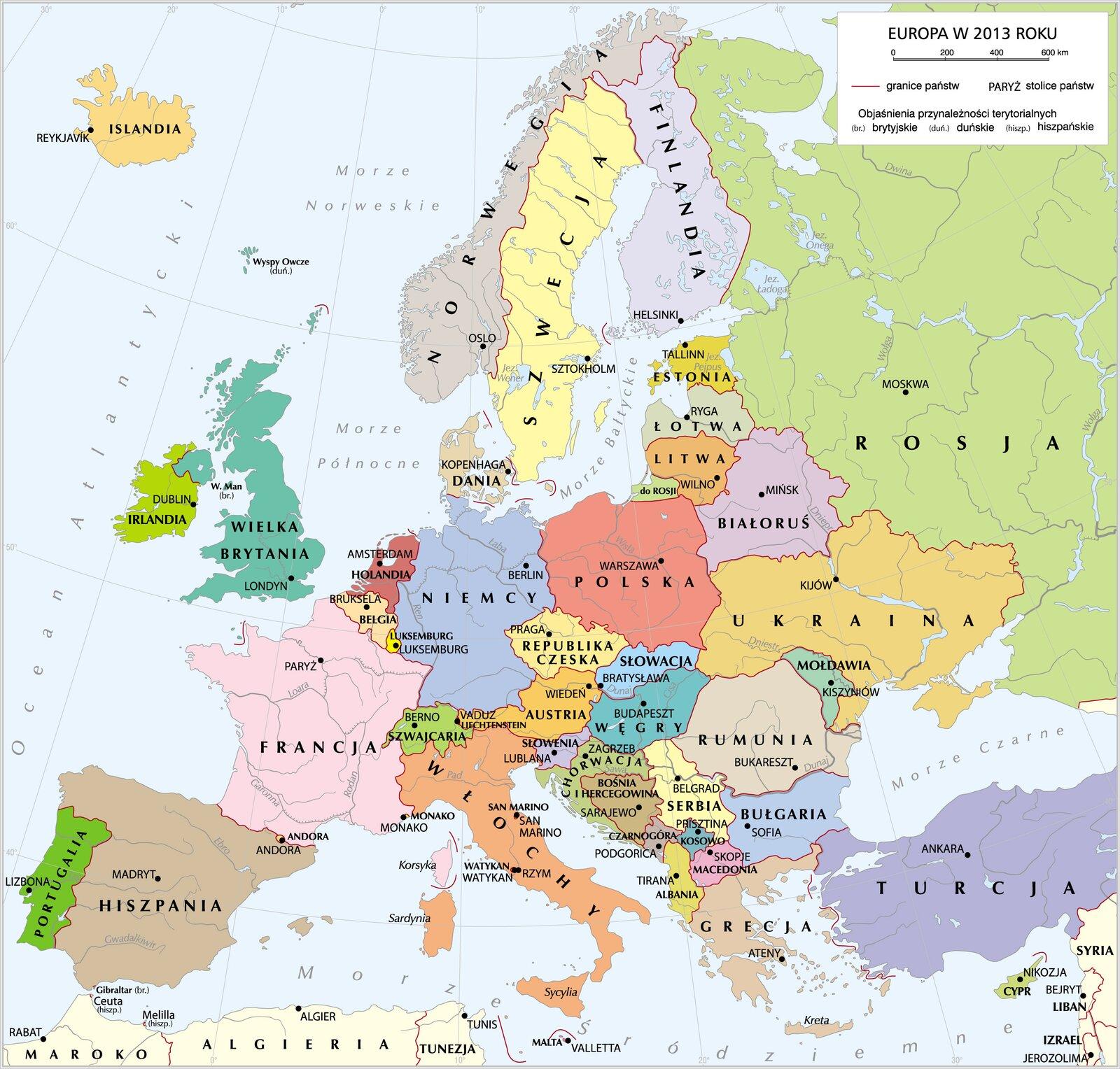 Współczesna Europa Współczesna Europa Źródło: Krystian Chariza izespół.