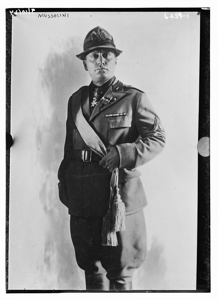 Benito Mussolini wczasie Iwojny światowej Benito Mussolini wczasie Iwojny światowej Źródło: domena publiczna.