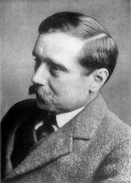 Portret H. G. Wellsa Źródło: domena publiczna.