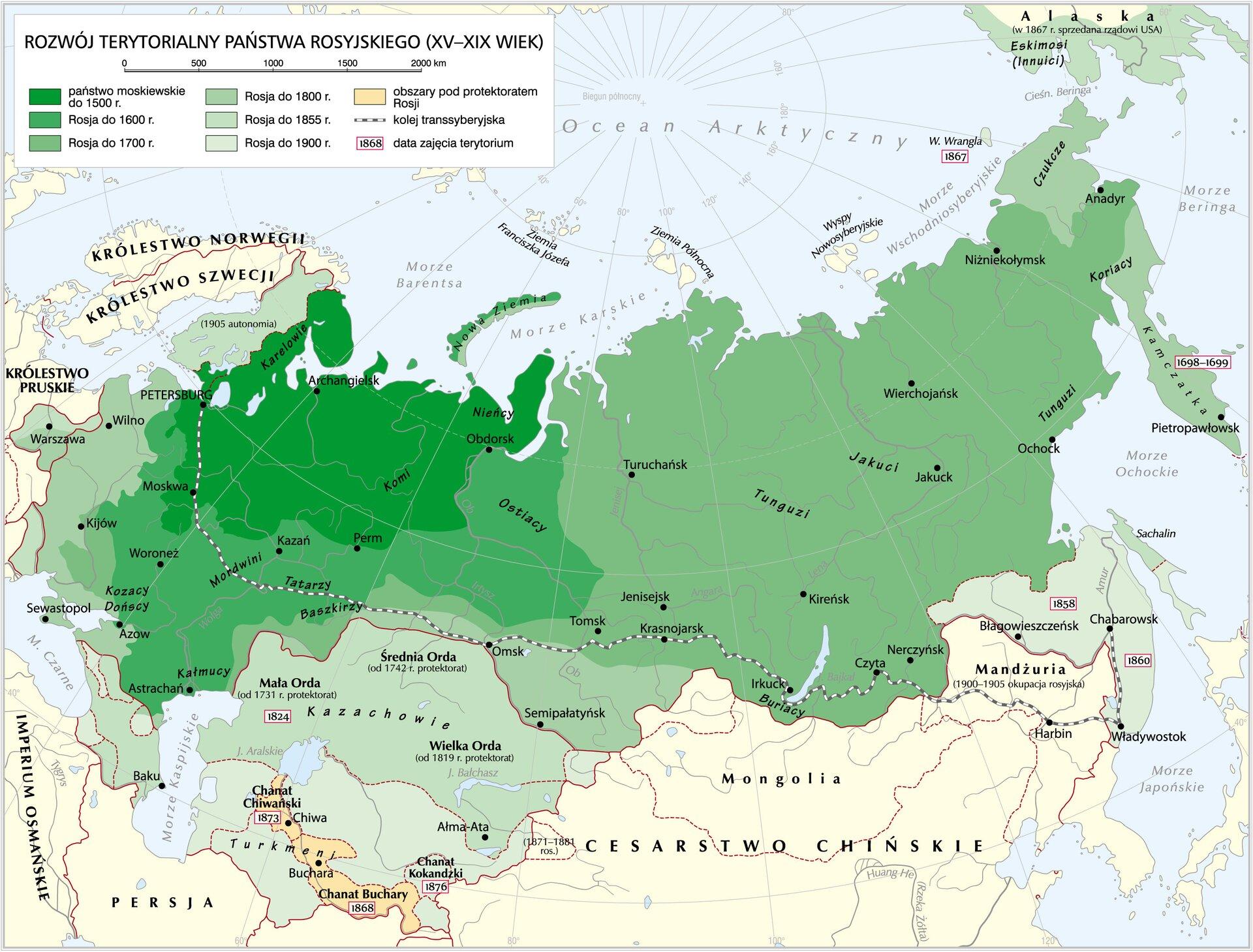 Rosja wXIX wieku Źródło: Krystian Chariza izespół, Rosja wXIX wieku, licencja: CC BY 3.0.