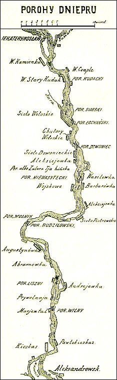 Porohyna Dnieprze wXIX w. Porohyna Dnieprze wXIX w. Źródło: domena publiczna.