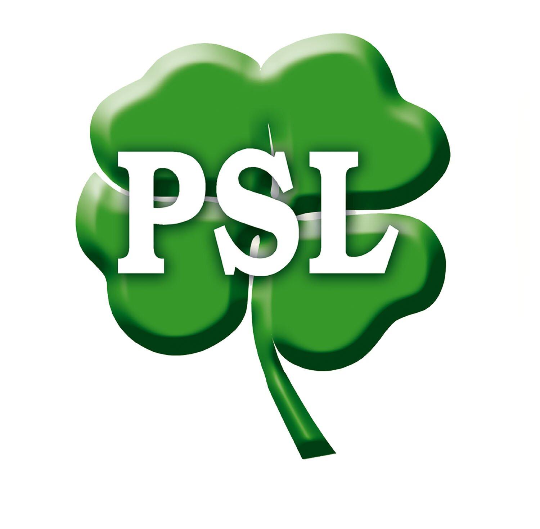 Logo partii PSL
