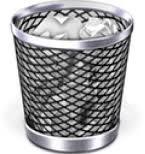 Ikona kosza wsystemie Mac OS