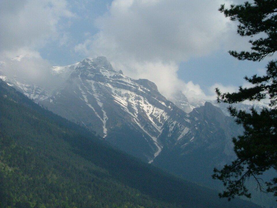 Góra Olimp Góra Olimp Źródło: Alina Zienowicz, Wikimedia Commons, licencja: CC BY-SA 3.0.