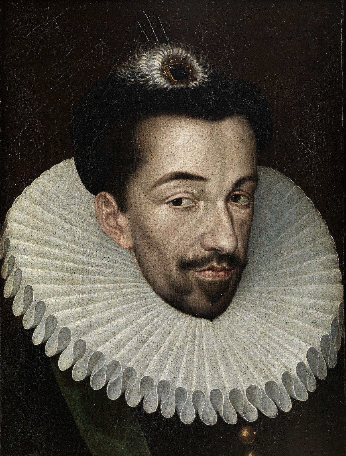 HenrykWalezy, pierwszy król elekcyjny wRzeczypospolitej, wybrany w1573 roku. HenrykWalezy, pierwszy król elekcyjny wRzeczypospolitej, wybrany w1573 roku. Źródło: François Quesnel, XVI w., olej na płótnie, Wikimedia Commons, domena publiczna.