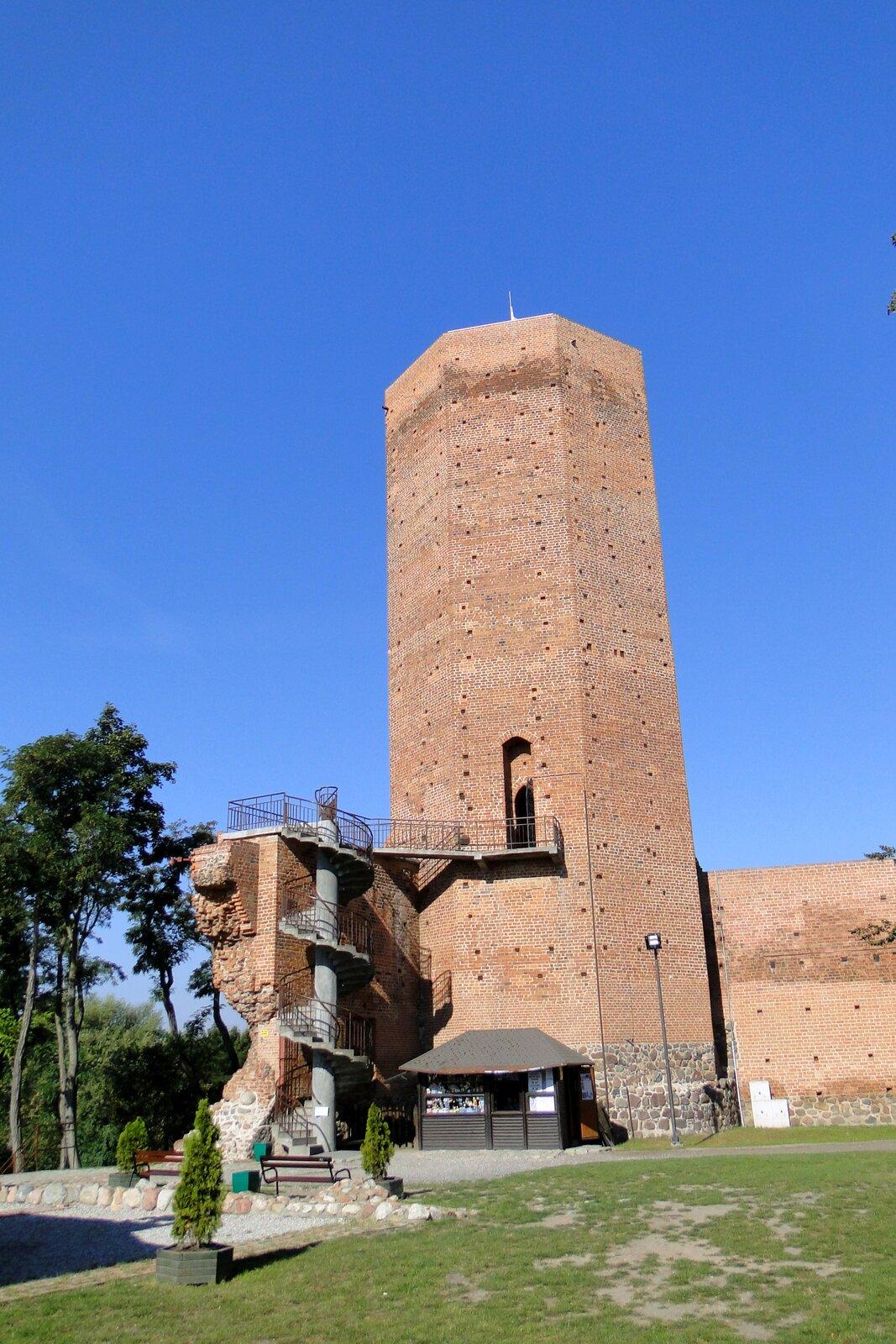 Mysia Wieża wKruszwicy Mysia Wieża wKruszwicy Źródło: Jędrycha, Wikimedia Commons, licencja: CC BY-SA 3.0.