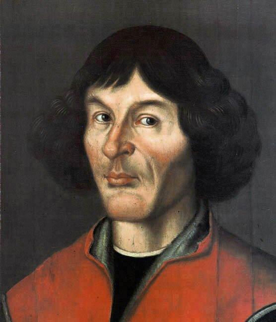 Mikołaj Kopernik Źródło: Mikołaj Kopernik, 1580, Olej itempera na desce, Muzeum Okręgowe wToruniu, Ratusz Staromiejski, Sala Mieszczańska, domena publiczna.