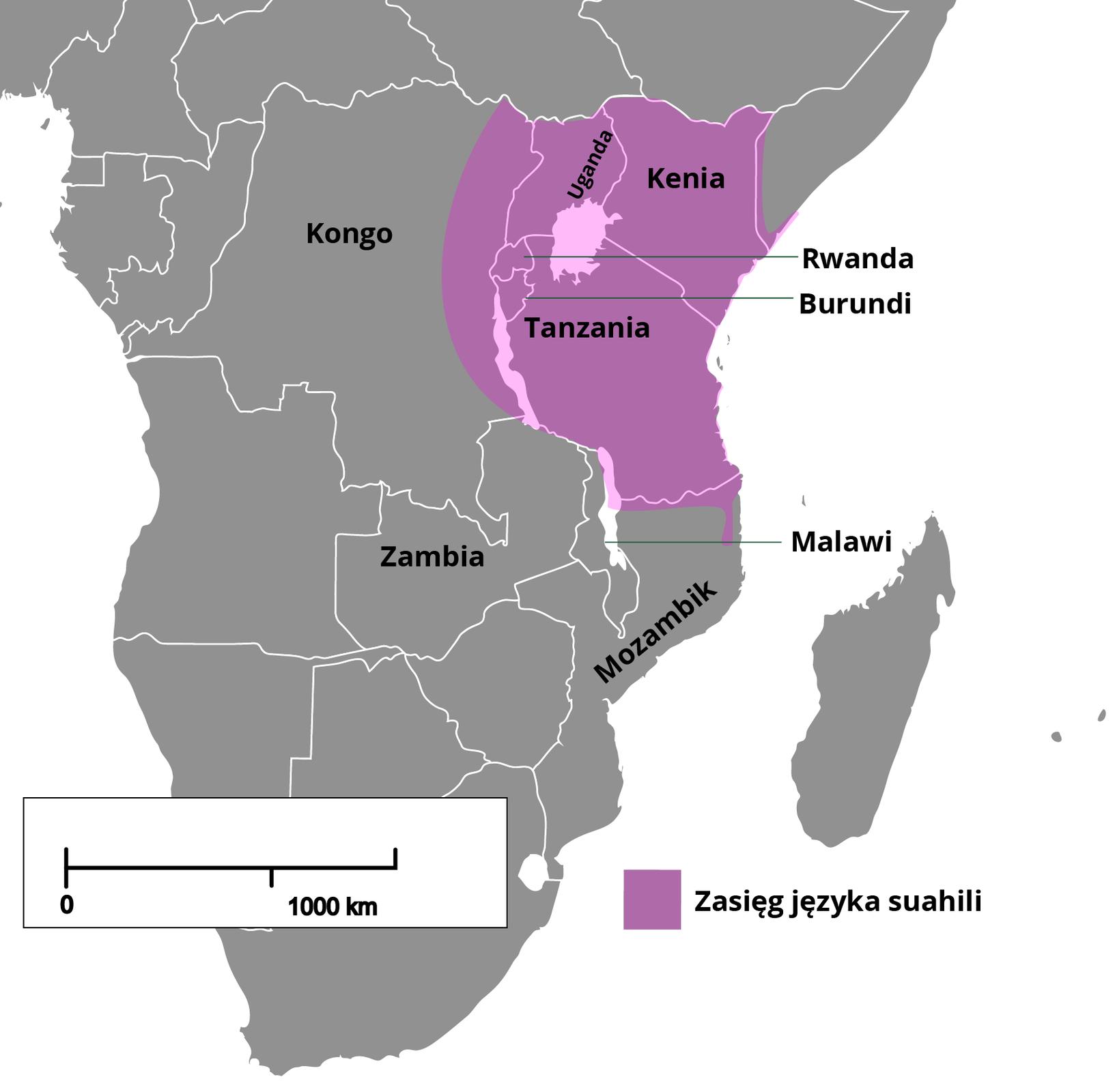 Nie tylko języki europejskie ułatwiają porozumiewanie się na obszarach globalnego Południa odużej różnorodności językowej. Językami używanymi wczasie podróży ikontaktów handlowych - awięc tzw. językami wehikularnymi (kontaktowymi) - są także te, które wywodzą się zdawniej skolonizowanych regionów świata: suahili wAfryce Wschodniej, hausa wAfryce Zachodniej, hindi wIndiach, język malajski wAzji Południowo-Wschodniej, bislama na wyspach Pacyfiku.