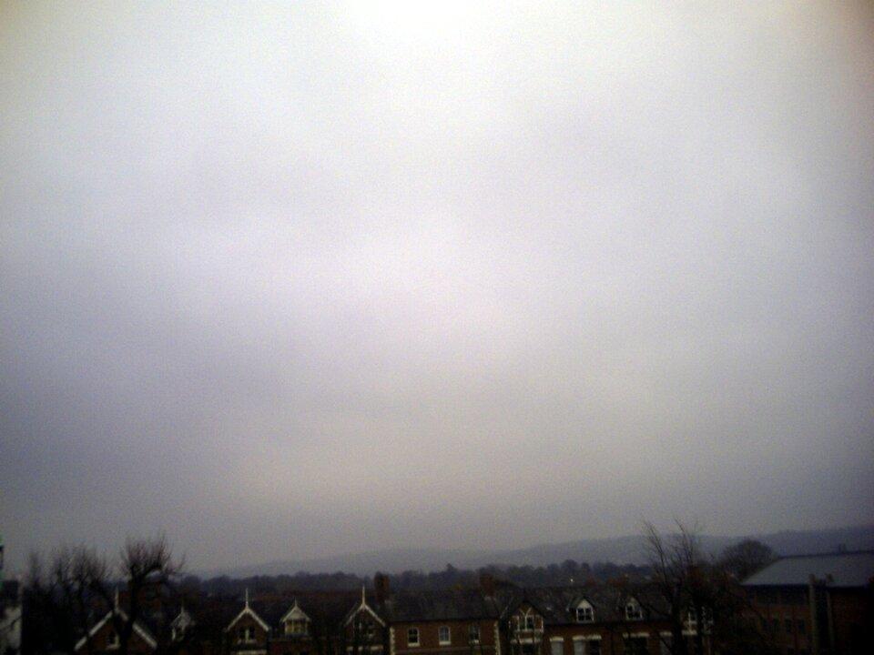 Fotografia chmury typu Stratus