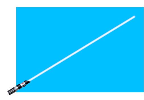 Miecz świetlny Miecz świetlny Źródło: Nécropotame, grafika komputerowa, domena publiczna.