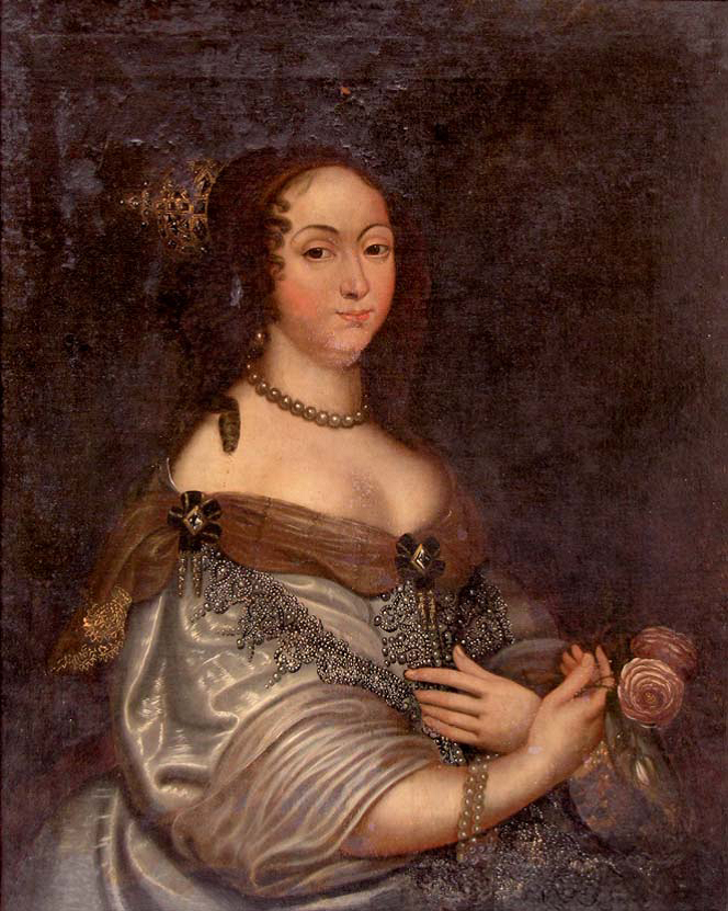 Portret Marii Ludwiki Gonzagi de Nevers