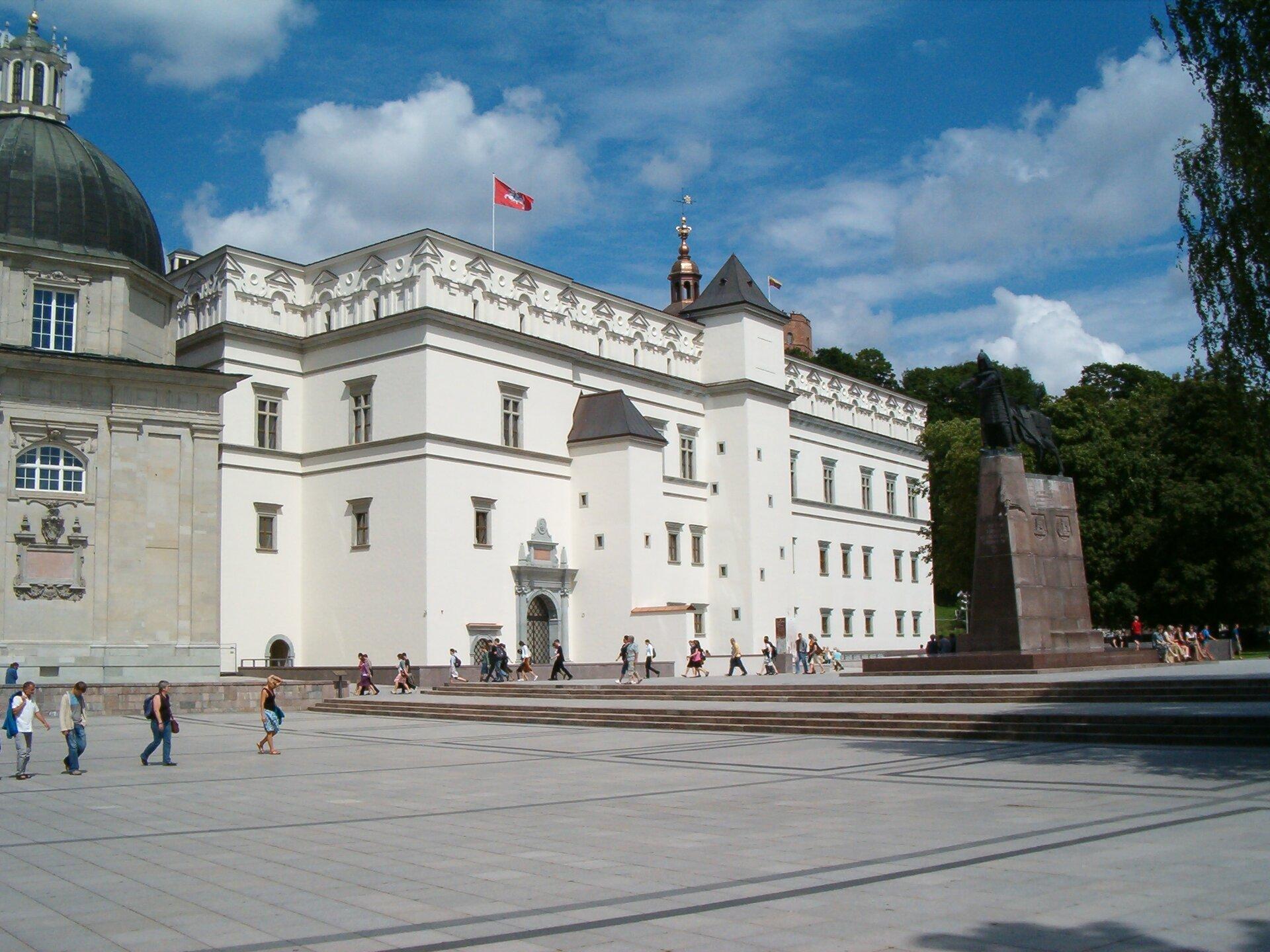 Wilno, Dolny Zamek Wilno, Dolny Zamek Źródło: Poznaniak, Wikimedia Commons, licencja: CC BY-SA 2.5.