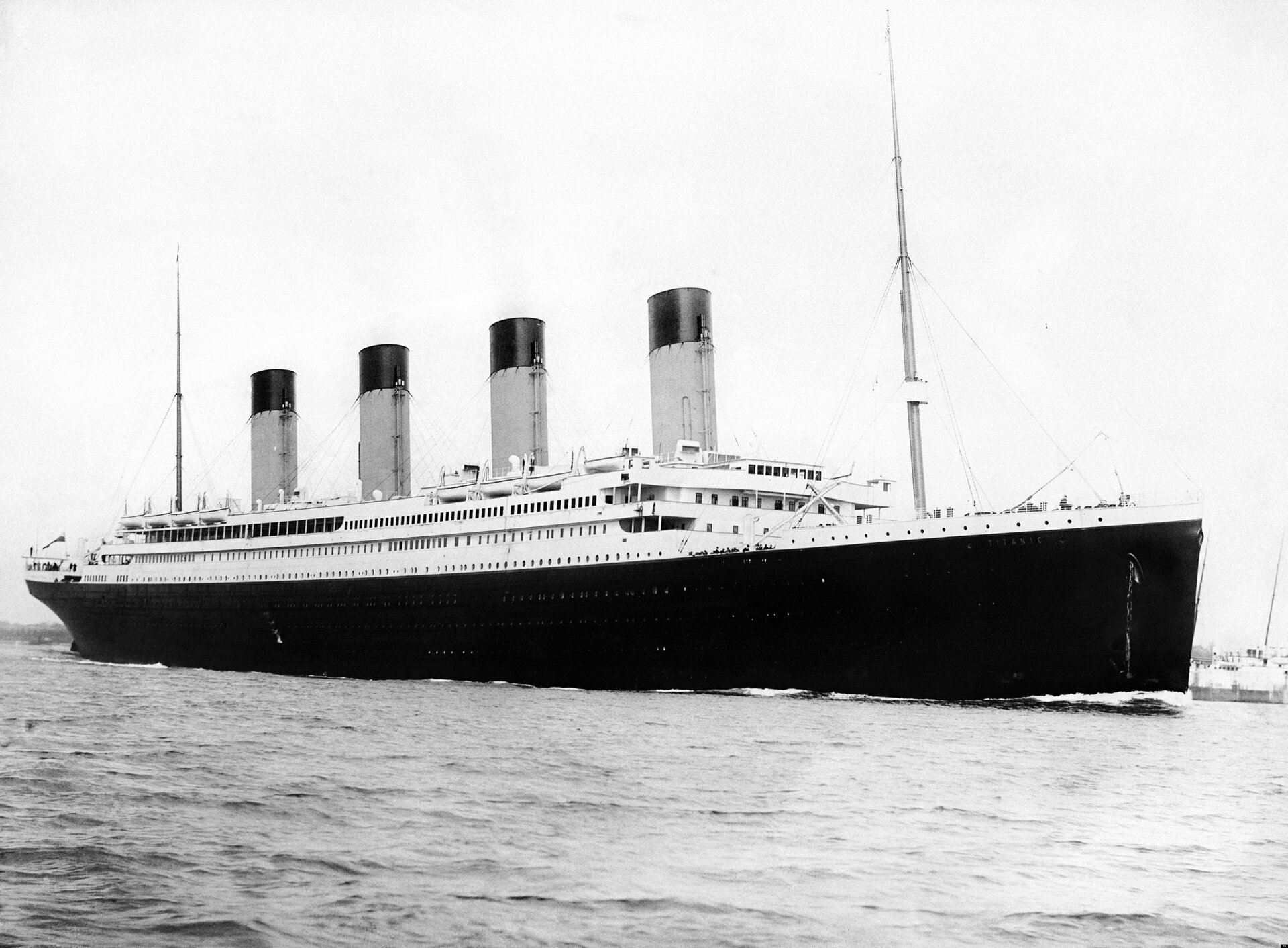 Statek parowy – Titanic Źródło: F.G.O. Stuart, Statek parowy – Titanic, licencja: CC 0.