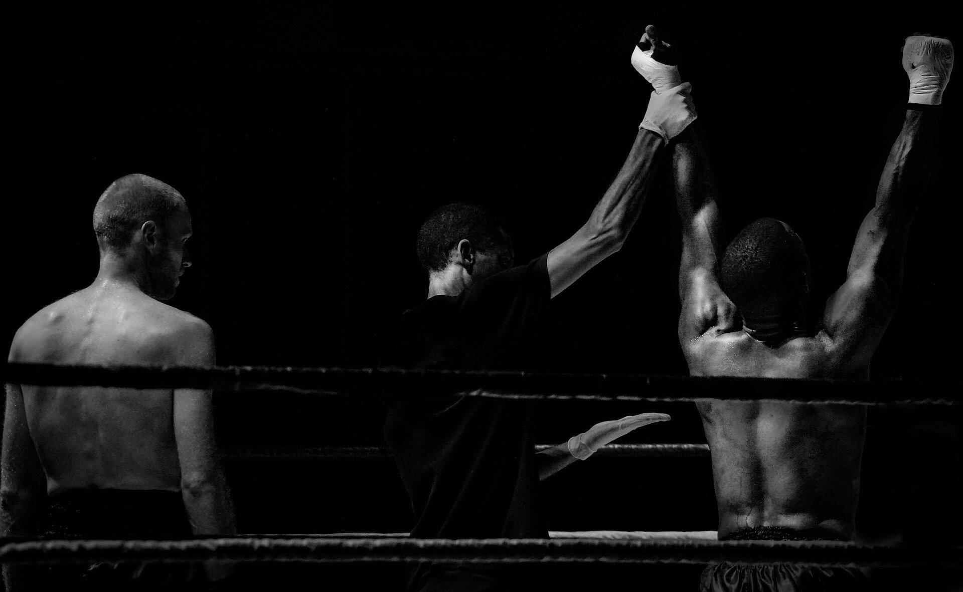 Sport Źródło: www.pixabay.com, fotografia czarno-biała, domena publiczna.