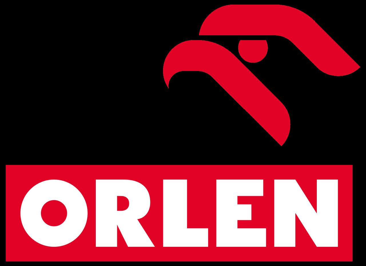 Logotyp Polskiego Koncernu Naftowego Orlen SA Logotyp Polskiego Koncernu Naftowego Orlen SA Źródło: domena publiczna.