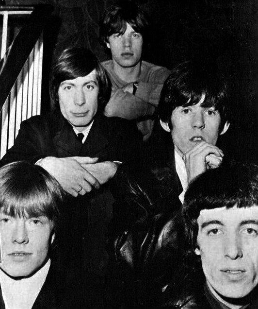 The Rolling Stones The Rolling Stones Źródło: domena publiczna.