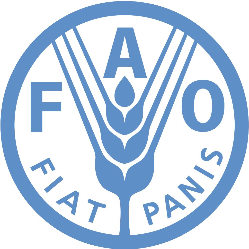 LogoOrganizacji Narodów Zjednoczonych do spraw Wyżywienia iRolnictwa