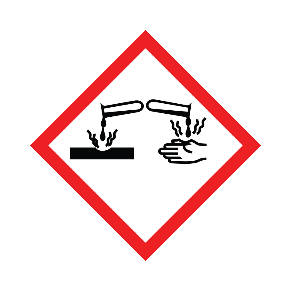 Ostrzeżenia na opakowaniach środków czystości.