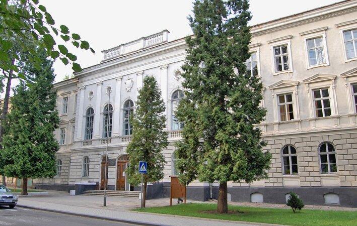 Drohobyckie gimnazjum, ujęcie współczesne Źródło: J. Naus, Drohobyckie gimnazjum, ujęcie współczesne, licencja: CC BY-SA 3.0.