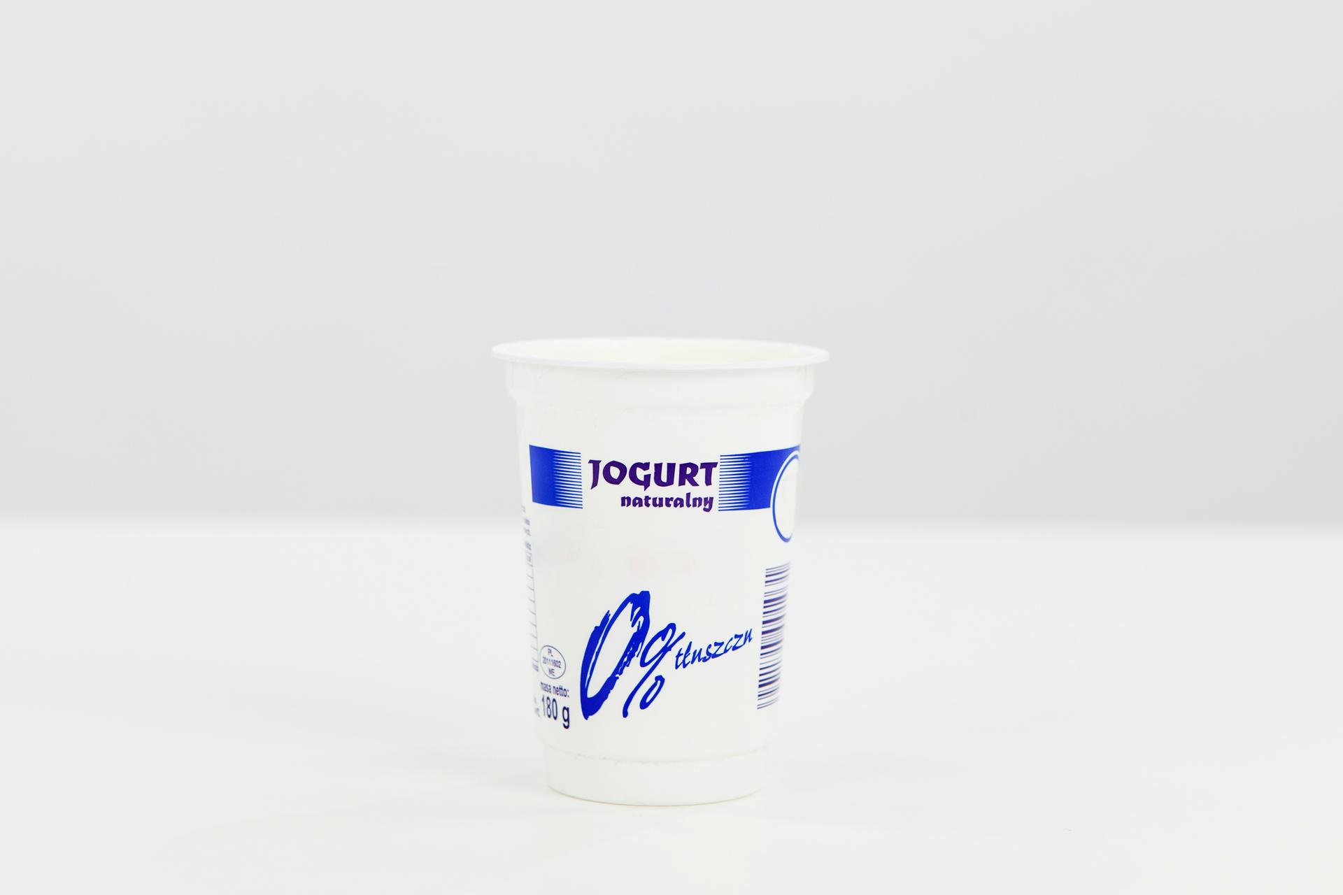 Opakowanie jogurtu