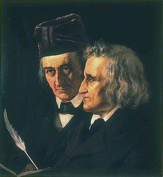 Bracia Grimm Źródło: domena publiczna.