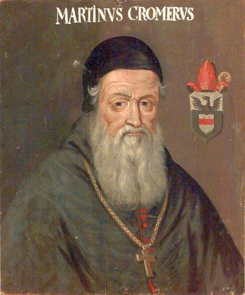 Marcin Kromer jako biskup warmiński Źródło: Marcin Kromer jako biskup warmiński, 1688-1703, olej na desce, Skokloster Castle, domena publiczna.