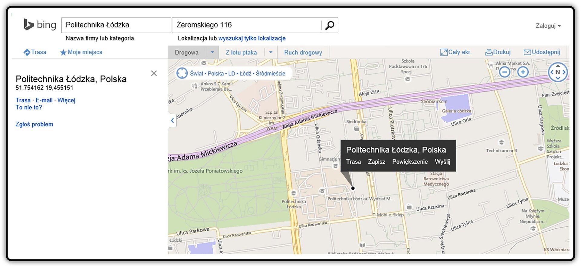 Slajd 1 galerii zrzutów fragmentów mapy