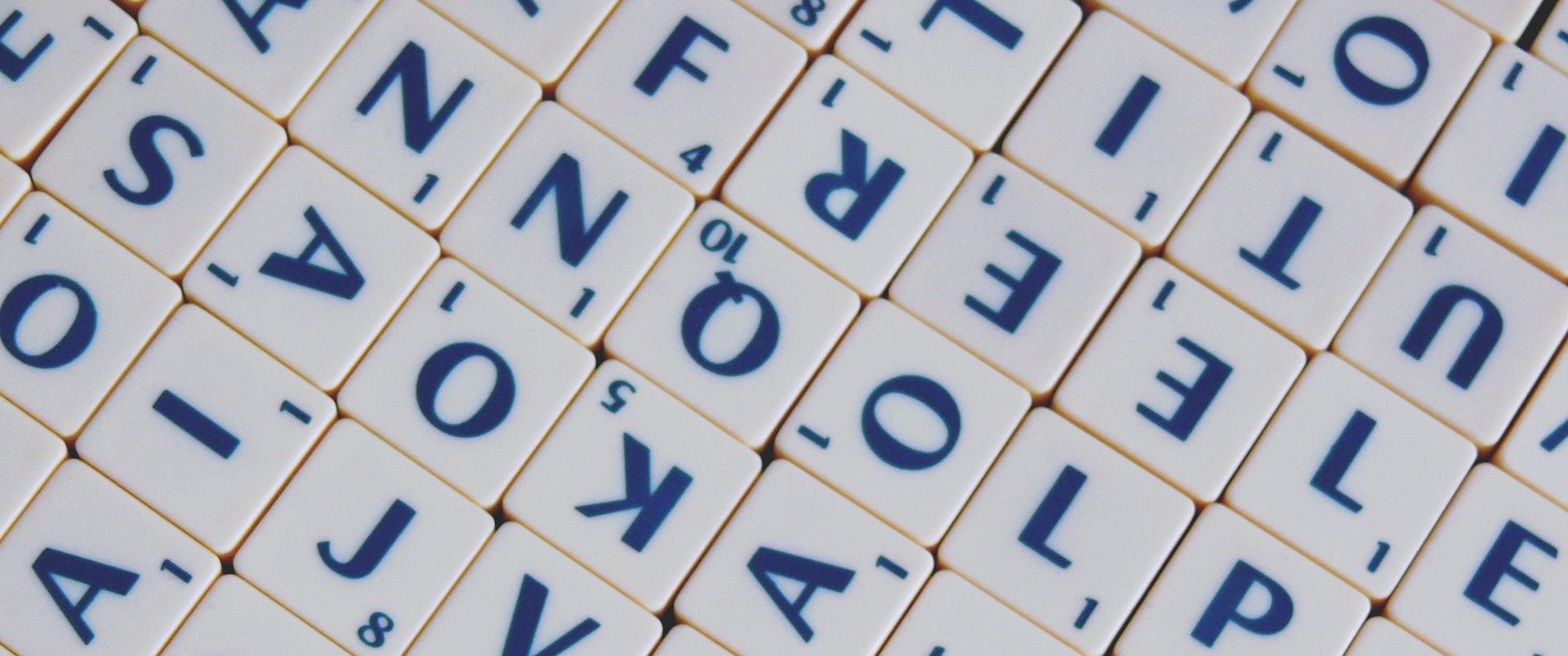Scrabble Źródło: Scrabble, licencja: CC 0.