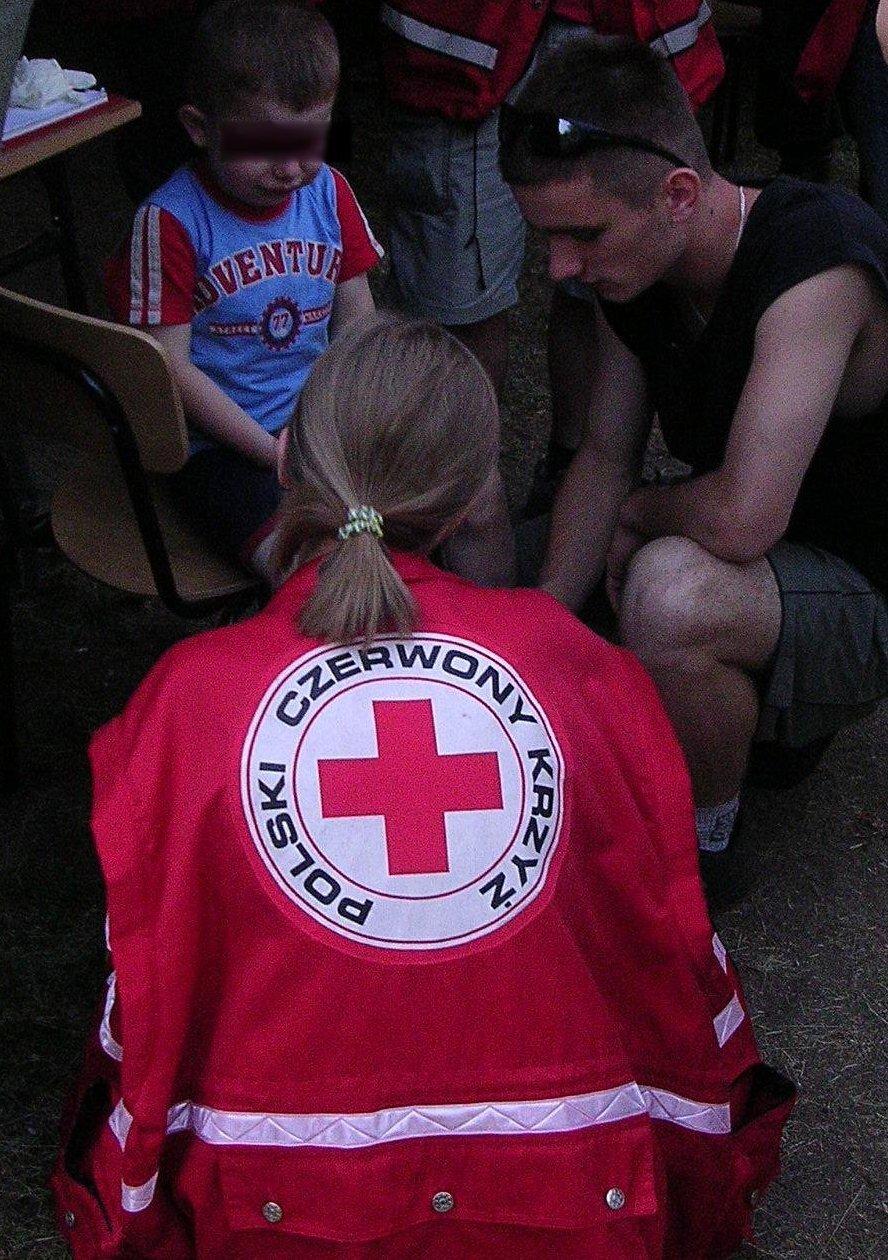 Pomoc udzielana przez Polski Czerwony Krzyż