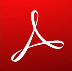 Ikona programu do przeglądania plików pdf