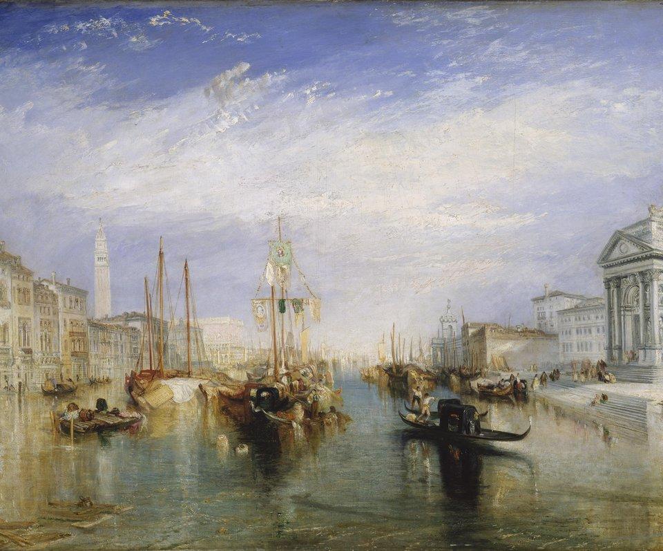 Wielki Kanał wWenecji Źródło: William Turner, Wielki Kanał wWenecji, ok. 1835, olej na płótnie, domena publiczna.