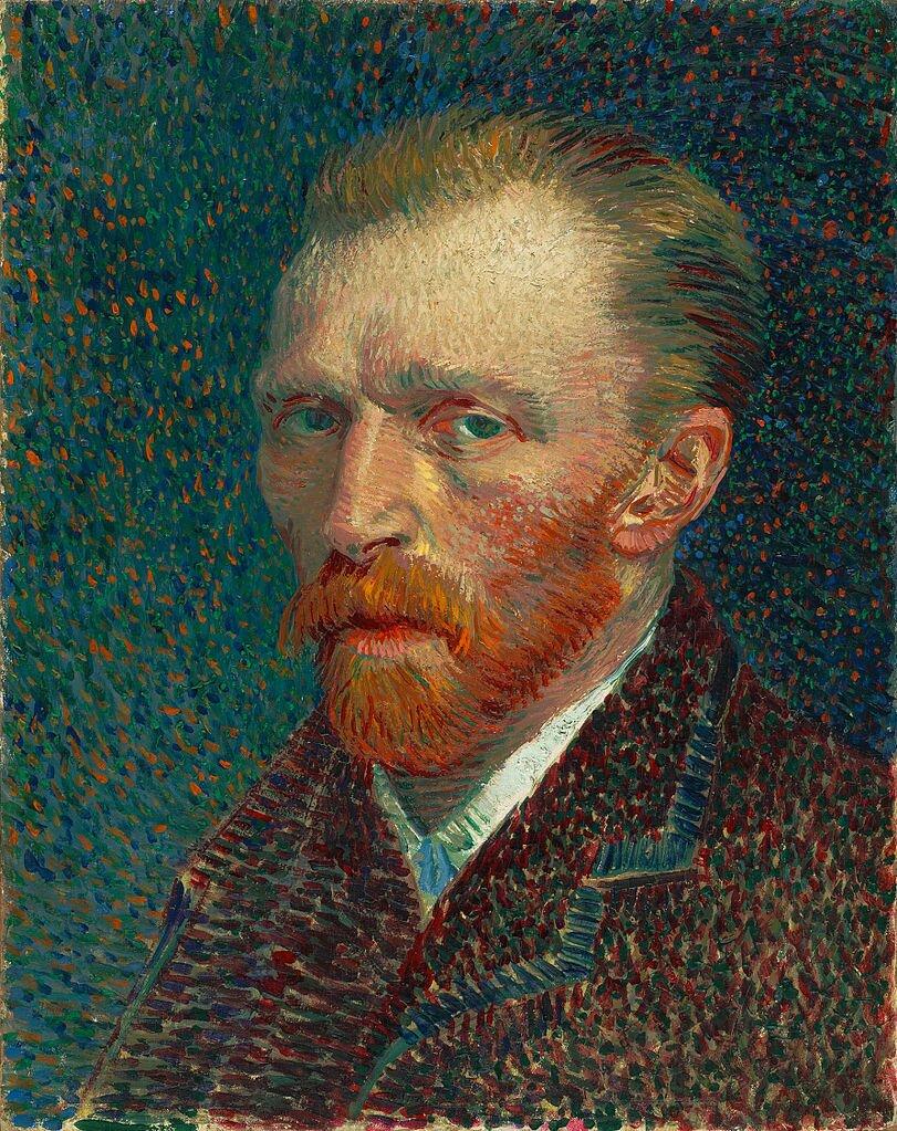 Autoportret Źródło: Vincent van Gogh, Autoportret, 1887, olej na tekturze, Art Institute of Chicago, domena publiczna.