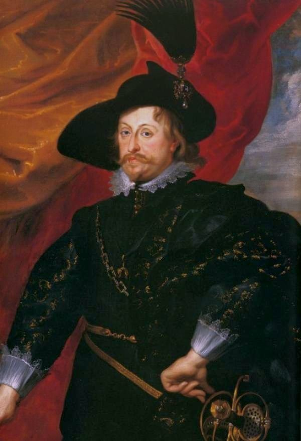 Portret królewicza Władysława Wazy Źródło: Peter Paul Rubens, Portret królewicza Władysława Wazy, 1624, olej na płótnie, Zamek Królewski na Wawelu, domena publiczna.