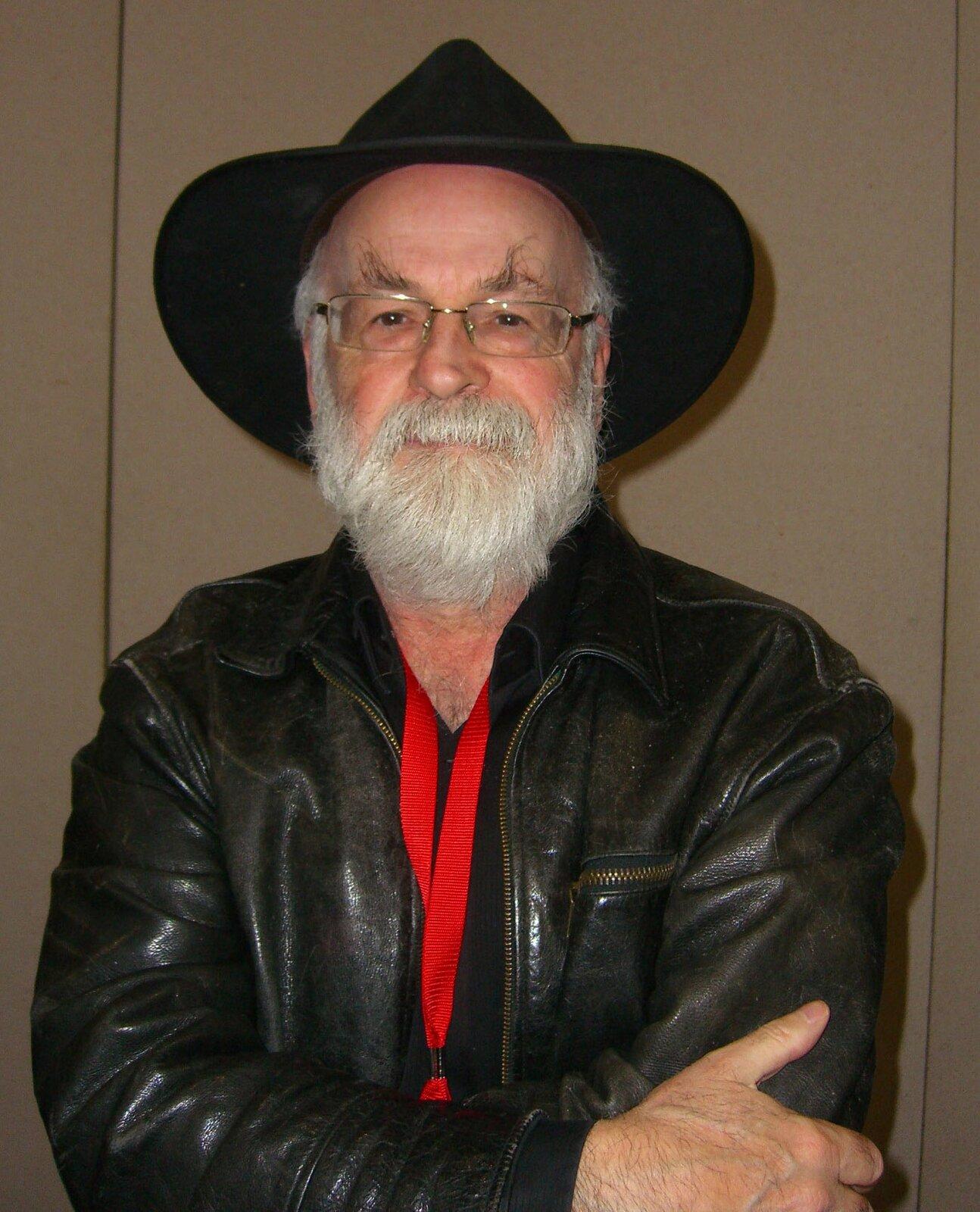 Terry Pratchett Źródło: Luigi Novi, Terry Pratchett, fotografia.