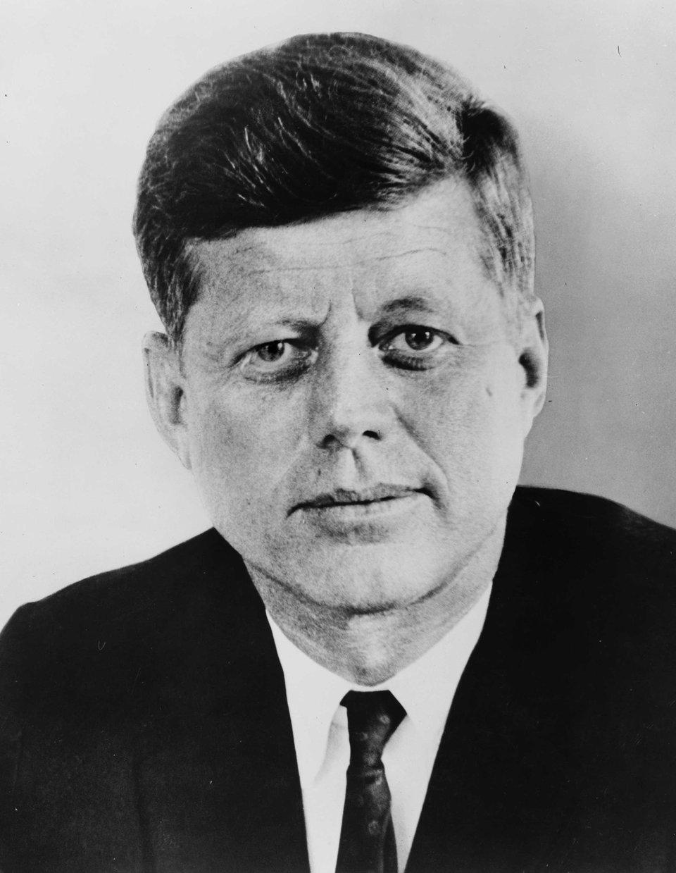 John F. Kennedy John F. Kennedy Źródło: domena publiczna.