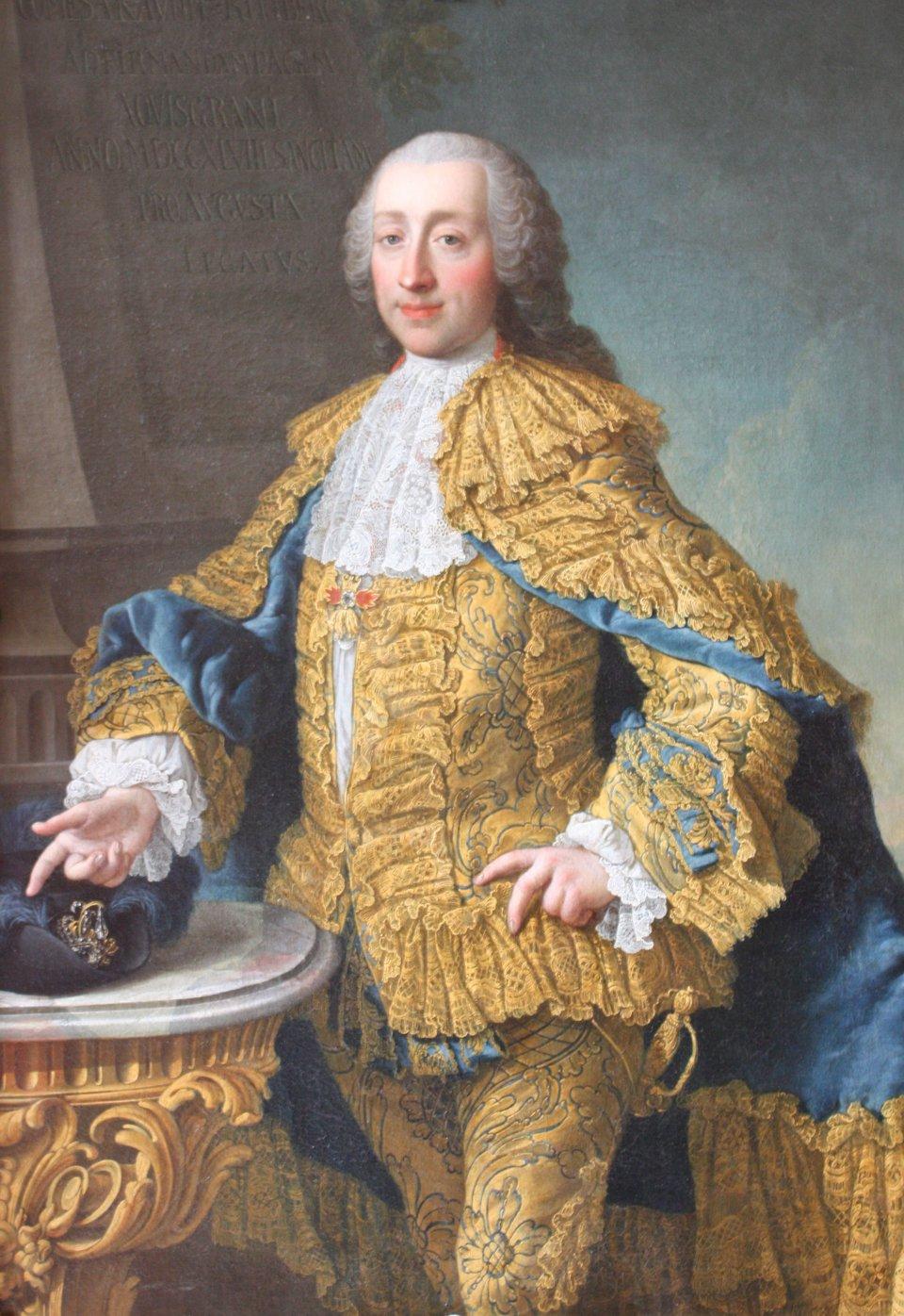 Wenzel Anton von Kaunitz Wenzel Anton von Kaunitz –jeden zczołowych doradców Marii Teresy Źródło: Wenzel Anton von Kaunitz, ok. 1750-1752, olej, domena publiczna.