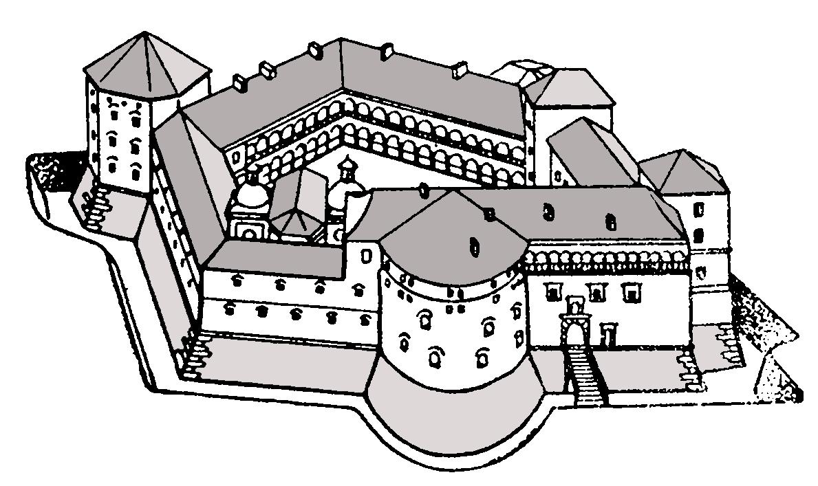 Zamek wBrzeżanach Zamek wBrzeżanach Źródło: Elya at German Wikipedia, Wikimedia Commons, licencja: CC BY-SA 3.0.