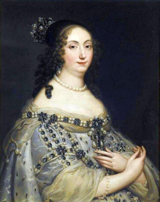 Portret Marii Ludwiki