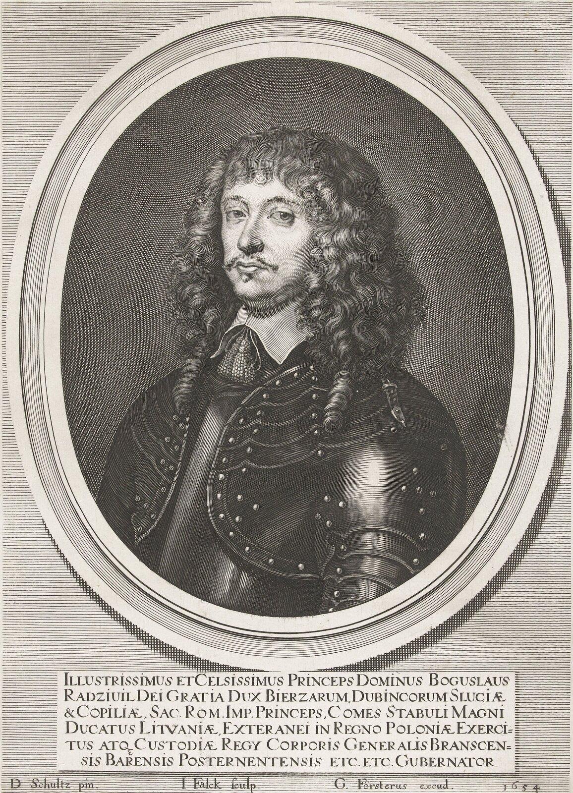 Portret Bogusława Radziwiłła - popiersie wzbroi.