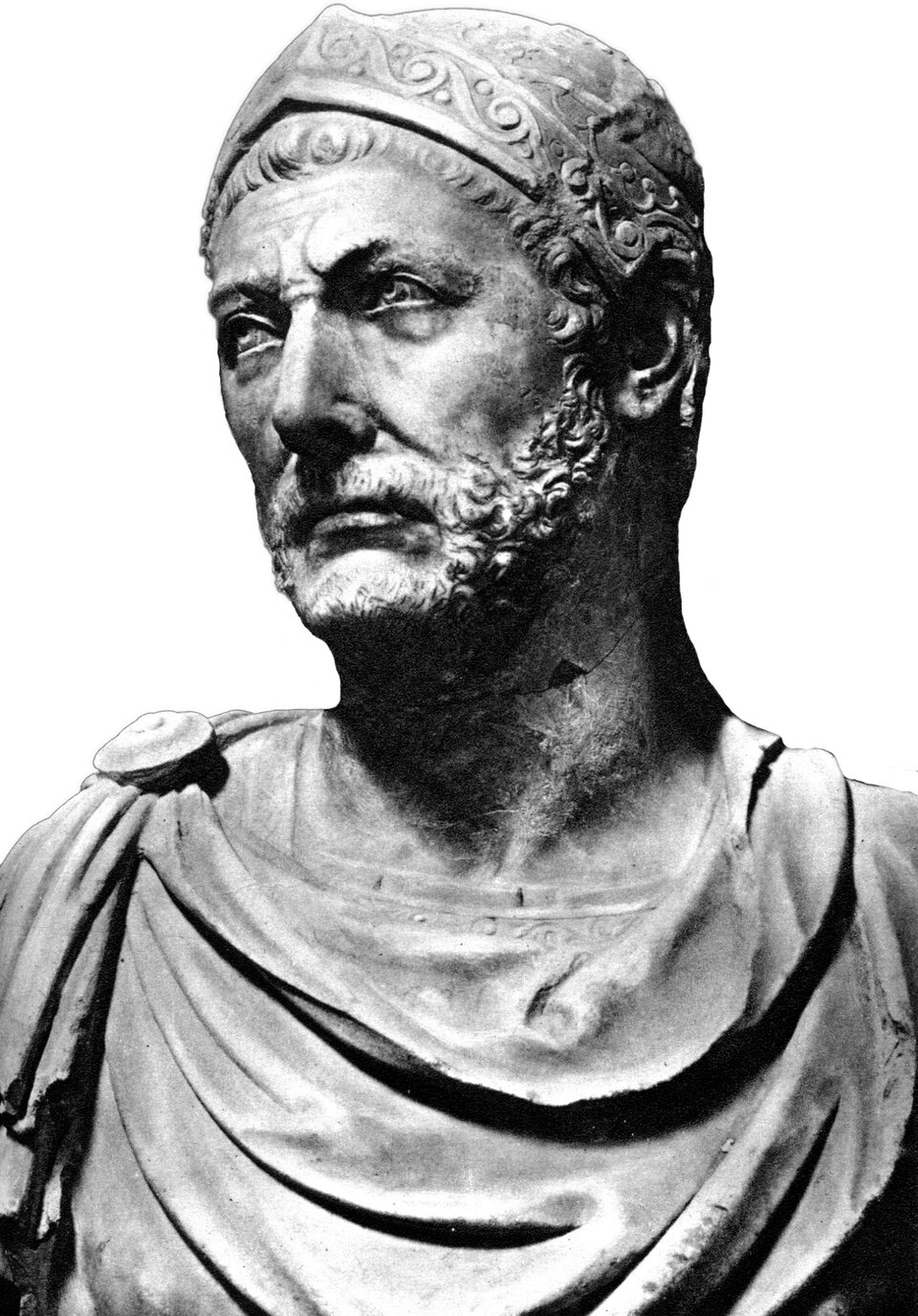 Popiersie Hannibala Popiersie Hannibala Źródło: domena publiczna.