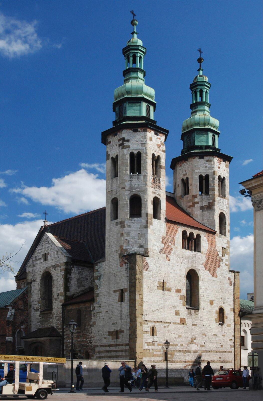 Kościół św. Andrzeja wKrakowie Kościół św. Andrzeja wKrakowie Źródło: Cancre, licencja: CC BY-SA 4.0.