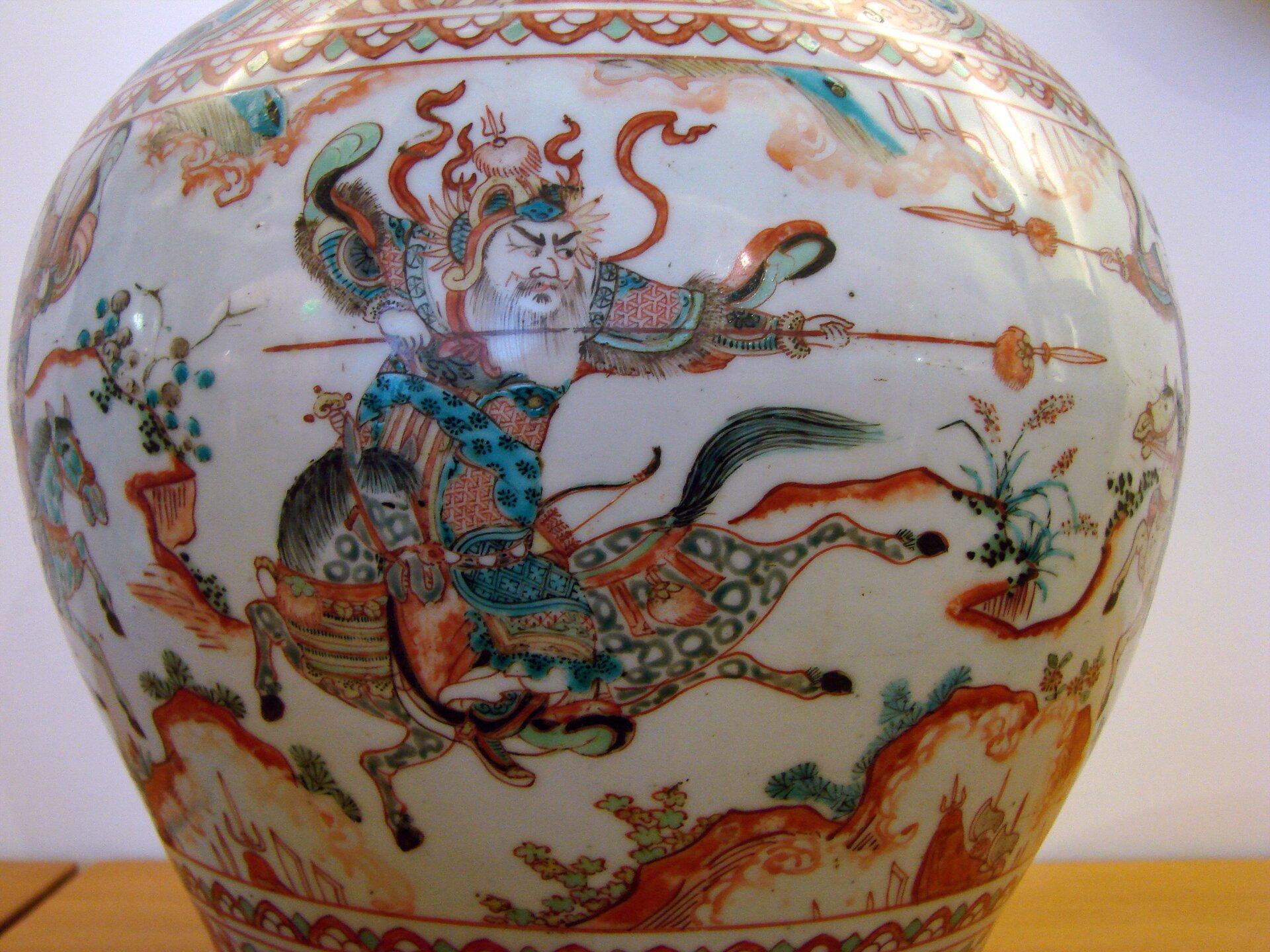 Porcelana zokresu dynastii Ming Porcelana zokresu dynastii Ming Źródło: Vassil, domena publiczna.
