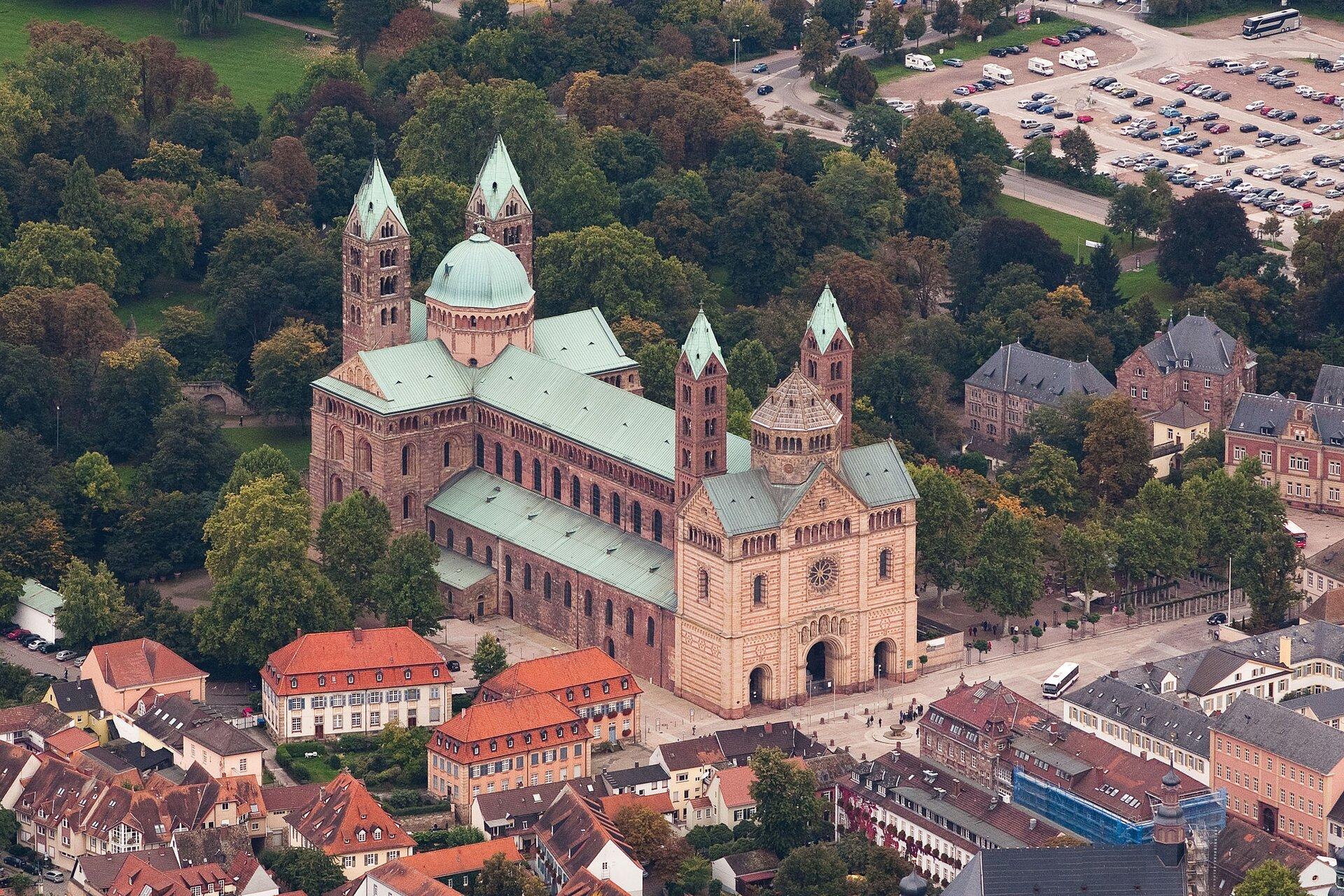 Katedra Wniebowzięcia NMP iśw. Szczepana wSpirze, 1024–1106 Katedra Wniebowzięcia NMP iśw. Szczepana wSpirze, 1024–1106 Źródło: Kai Scherrer, licencja: CC 0 1.0.