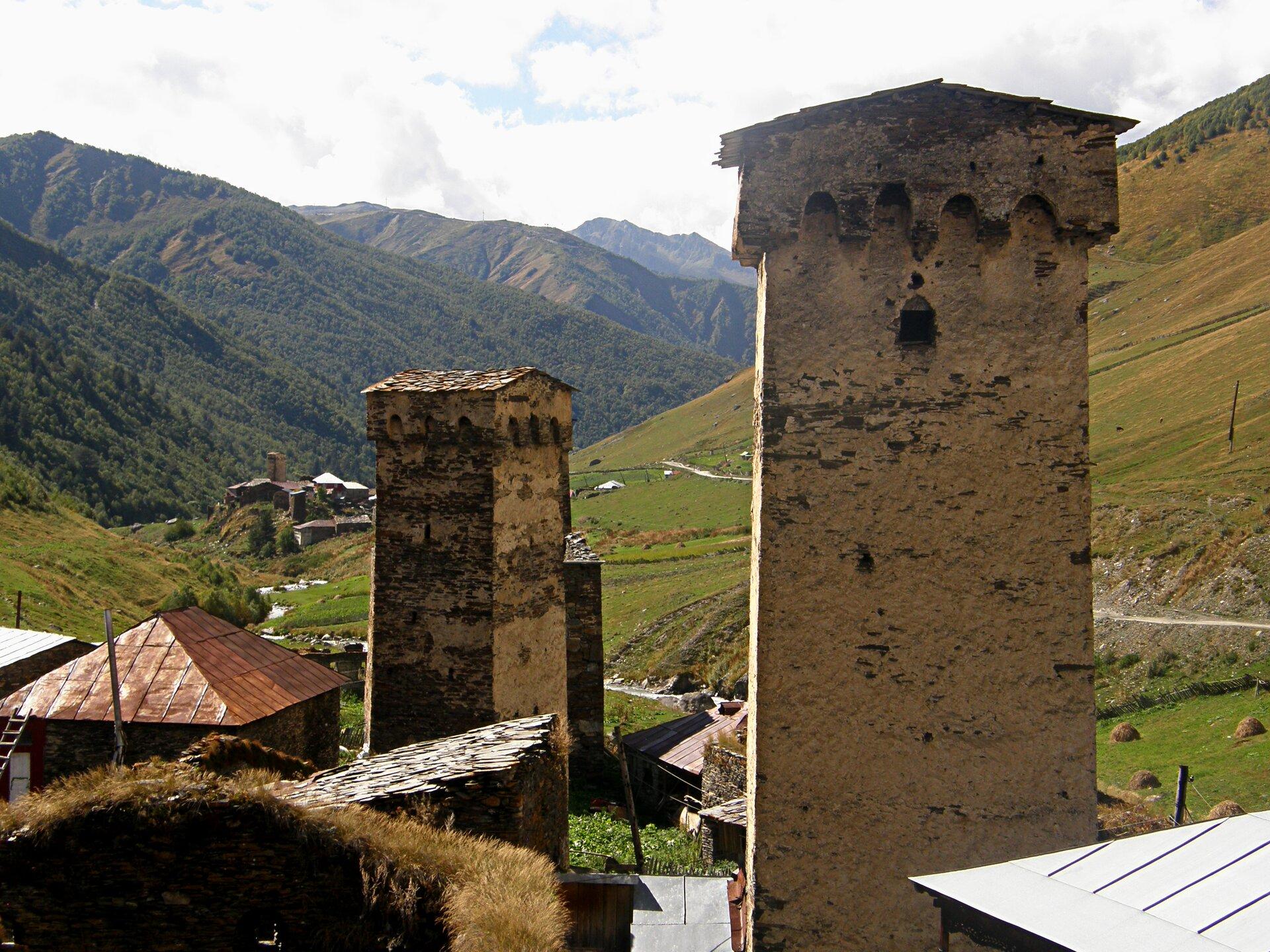 Gruzja, Swanetia Gruzja, Swanetia Źródło: Tomasz Maniewski, licencja: CC BY 3.0.