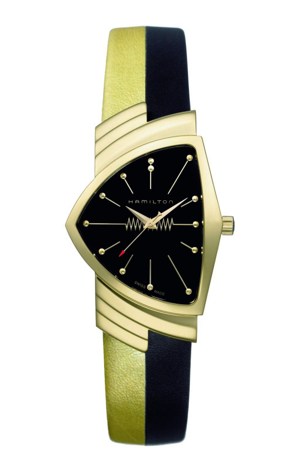 Zegarek Hamilton Zegarek Hamilton Źródło: Hamiltonwatches, 1957, fotografia barwna, licencja: CC BY-SA 3.0.