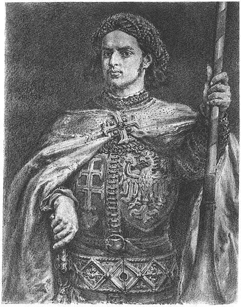 Władysław Warneńczyk Źródło: Jan Matejko, Władysław Warneńczyk, domena publiczna.