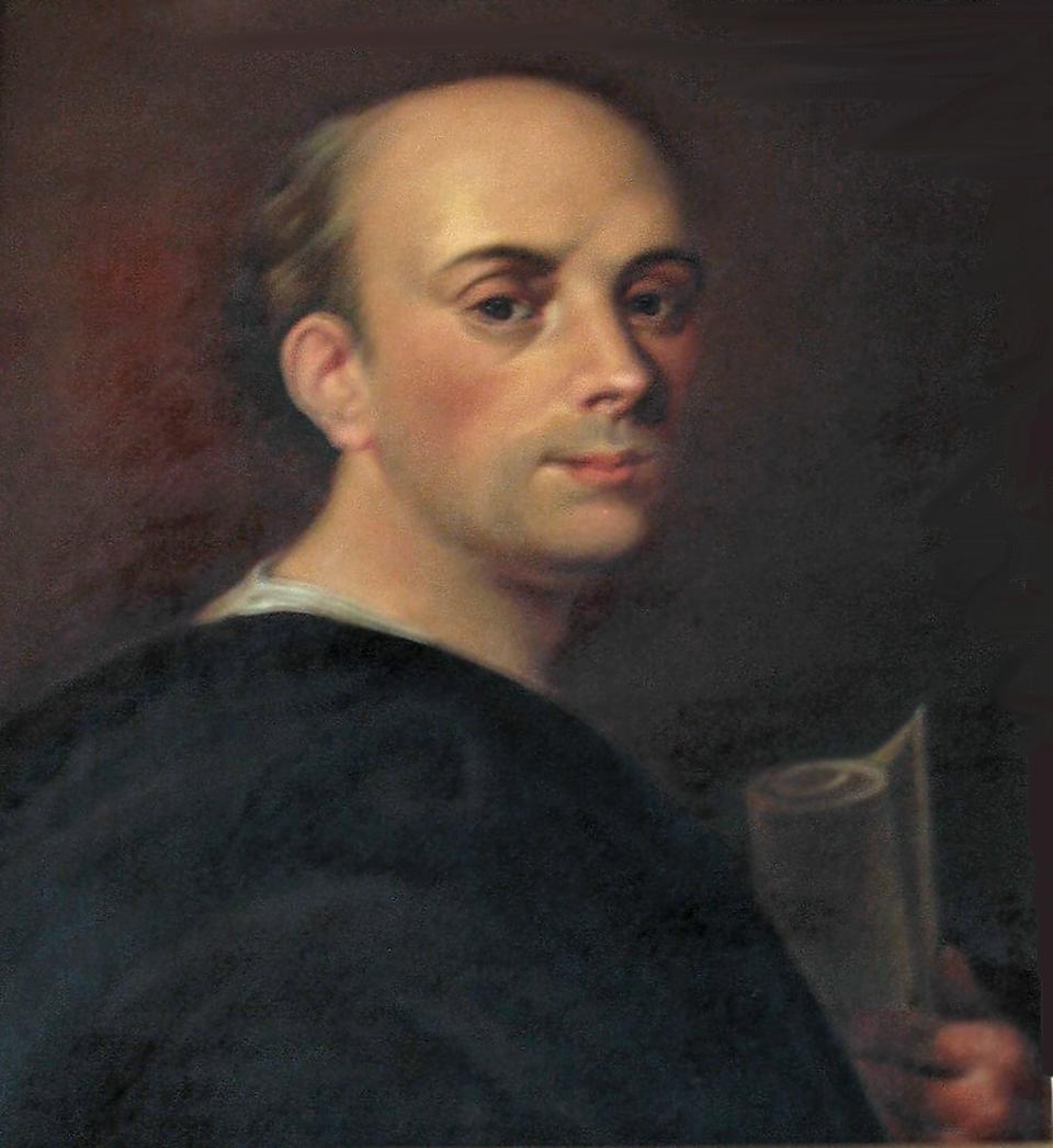 Scipione Piattoli Twórcy tekstu Konstytucji 3 maja:Scipione Piattoli. Źródło: Marcello Bacciarelli, Scipione Piattoli, nie później niż w1818 , domena publiczna.