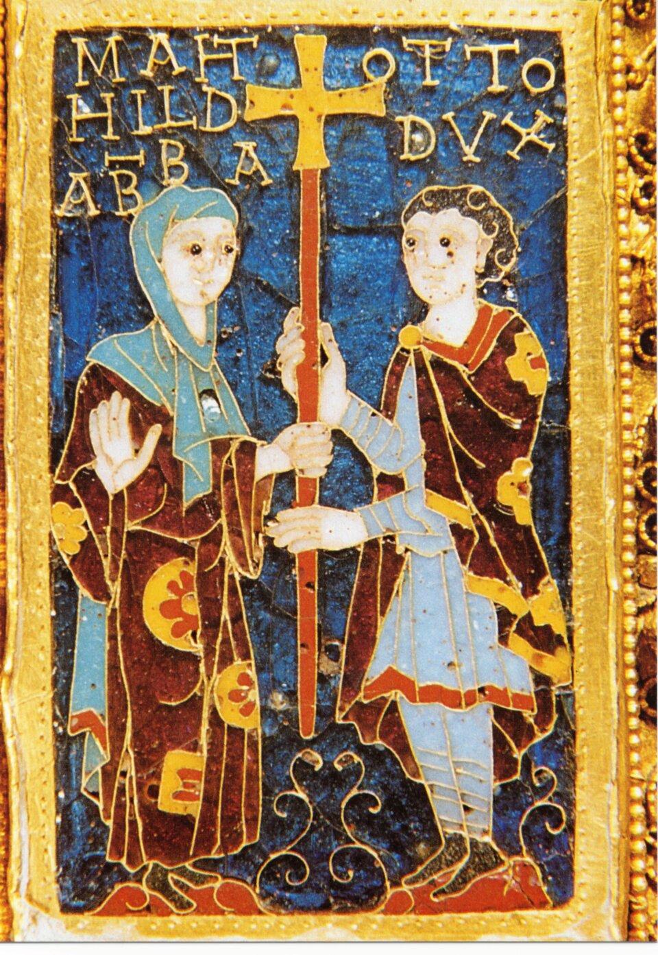 Krzyż Matyldy iOttona Źródło: Krzyż Matyldy iOttona.