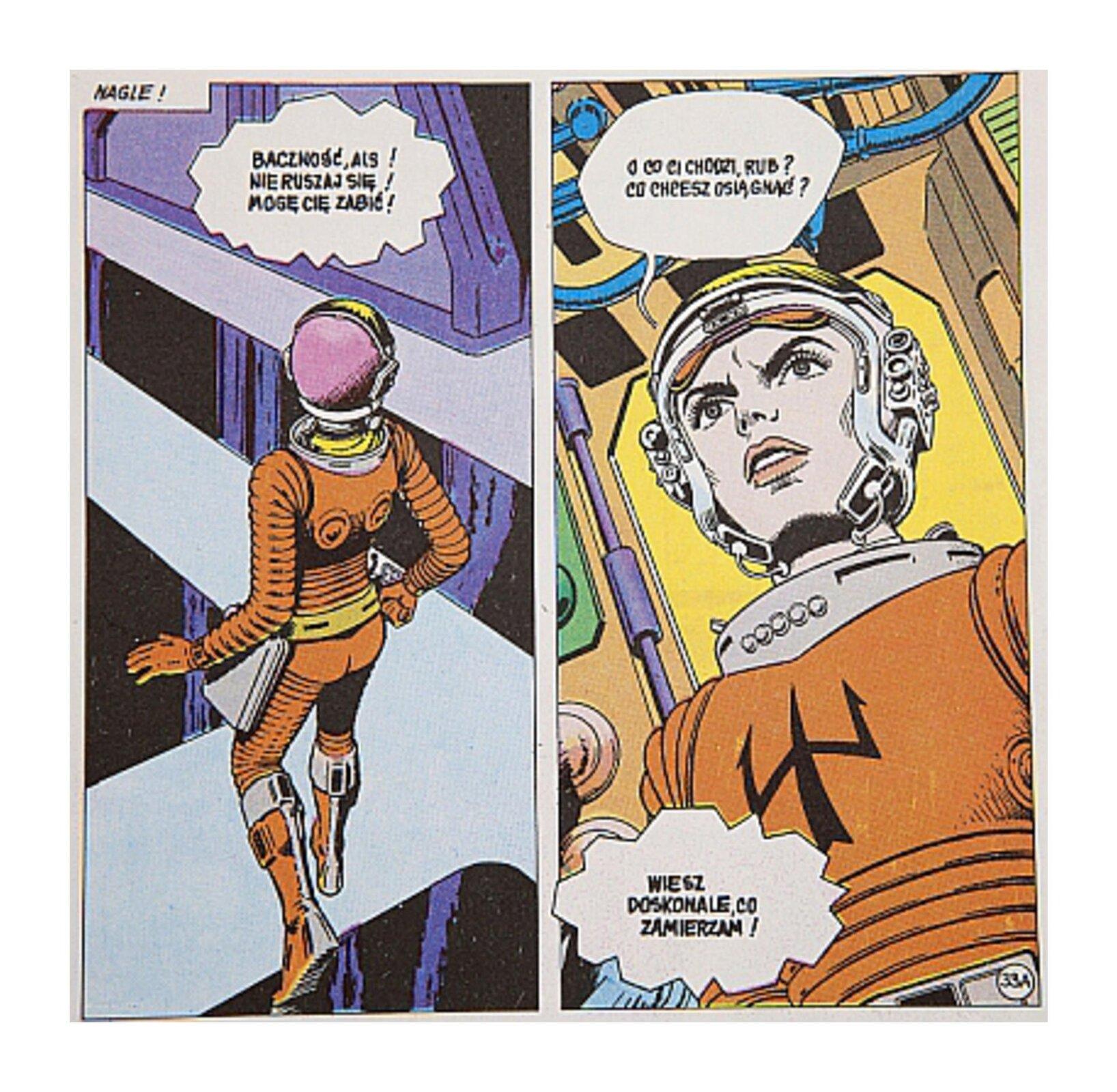 Wzadaniu zostały wykorzystany fragment komiksu.