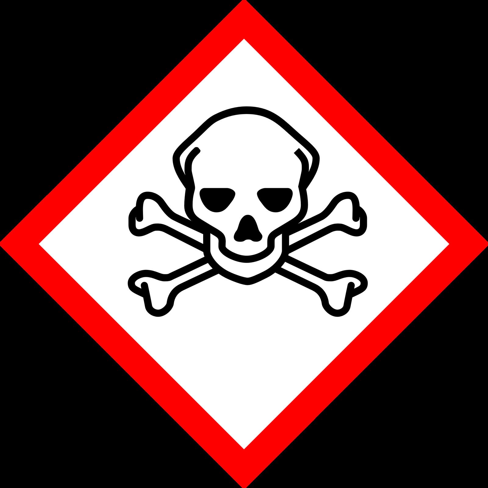 Piktogram – znak ostrzegawczy metanolu